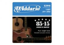 D\'addario Ez900 American Bronze 85/15 Extra Light 10-50