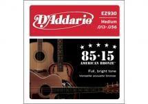 D\'addario Ez930 American Bronze 85/15 Medium 13-56