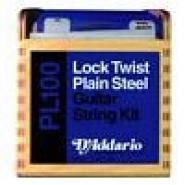 D\'addario Pl100 Assortiment Detail 300 Cordes Guitare Electrique Pleines Plain