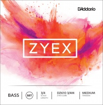 D\'addario And Co Cordes Contrebasse Zyex 3/4 Medidum