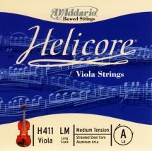 D\'addario Helicore Violon Alto Corde De La Long Scale Medium/file