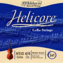 D\'addario Helicore Violoncelle 4/4 Jeu De Cordes Medium