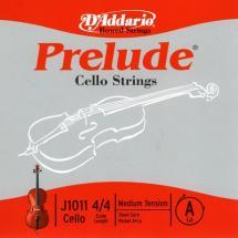 D\'addario Prelude Violoncelle 4/4 Corde De La Medium/file Nickel