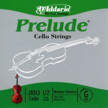 D\'addario Prelude Violoncelle 1/2 Corde De Sol Medium/file Nickel