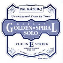 D\'addario Kaplan Violon 4/4 Corde De Mi Medium/acier Plein-a Boule