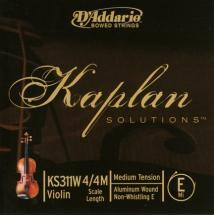 D\'addario Kaplan Violon 4/4 Corde De Mi Medium