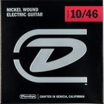 Dunlop Cordes Electriques Nickel Plated Steel Bulks Bulk De 72, Medium !10-13-17-26-36-46