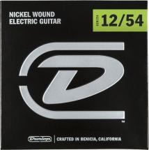 Dunlop Cordes Electriques Nickel Plated Steel Jeux Electrique Heavy 12-54
