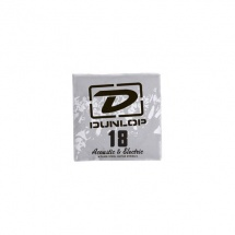 Dunlop Cordes Electriques Nickel Plated Steel Reassort Acier Plein 018
