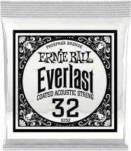 Ernie Ball Everlast Coated Phophore Bronze 32