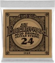 Ernie Ball Earthwood 80/20 Bronze 24