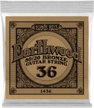 Ernie Ball Earthwood 80/20 Bronze 36