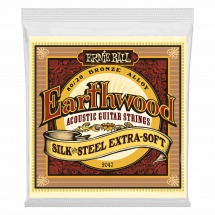 Ernie Ball Earthwood Acoustic Silk Steel Extra Soft 10-50 2047