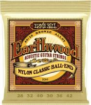 Ernie Ball Earthwood Nylon Classic Ball End 28-42 2069