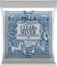 Ernie Ball Ernesto Palla Clear Silver 2403