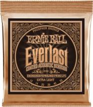 Ernie Ball Ep02550 Everlast 10-50 Xlight Phosphor Bronze Noel