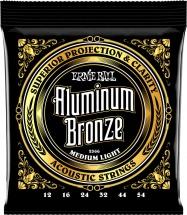 Ernie Ball P02566 Aluminum Bronze 12-54 Medium Light