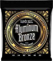Ernie Ball P02570 Aluminum Bronze 10-50 Extra Light