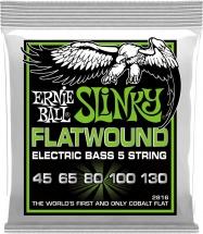 Ernie Ball Slinky Flatwound /5 Cordes 45-130