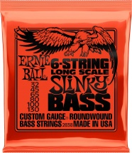 Ernie Ball Long Scale Slinky Bass 6 Cordes 32-130 2838