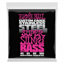 Ernie Ball Super Slinky Bass Stainless Steel 45-100 2844