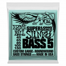 Ernie Ball Super Long Scale Slinky Bass 5 Cordes 40-130 2850