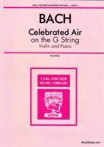 Bach J.s. - Air On The G-string - Violon & Piano