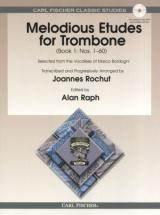 Rochut J. - Melodious Etudes For Trombone Vol.1 + Cd