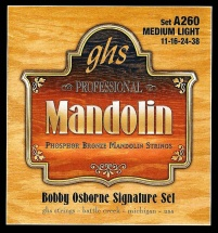 Ghs Mandoline Posphor Bronze Bobby Osborne Medium Light 11-16-24-38