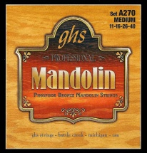 Ghs Mandoline Posphor Bronze Medium 11-16-26-40