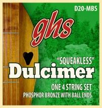 Ghs Dulcimer Phosphor Bronze à Boule