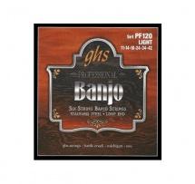 Ghs Banjo Stainless Steel Light 6c 11-14-18-24-34-42