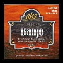 Ghs Cordes Folk Banjo Phosphor Bronze Light !10-12-14-22-10
