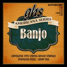 Ghs Banjo Americana Light 10-11-13-20-10