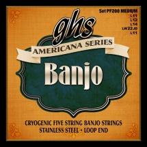 Ghs Banjo Americana Medium 11-12-14-22-11