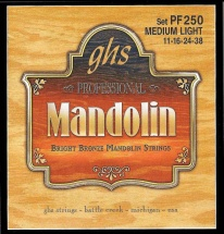 Ghs Mandoline Bright Bronze Medium Light 11-16-24-38
