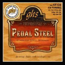 Ghs Cordes Folk Pedal Steel Stainless Steel Pedal Steel St C6