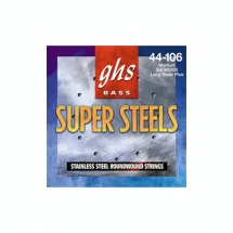 Ghs Cordes Basses Super Steels File Rond Reassort 030