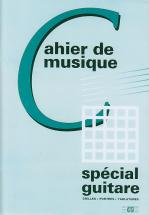 Cahier De Musique Special Guitare