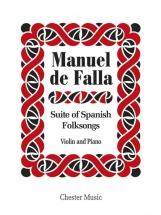 De Falla - Suite Of Spanish Folksongs - Violin And Piano