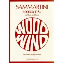 Sammartini G. - Sonata In G - Hautbois Et Piano