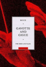 William Boyce - Gavotte And Gigue For Oboe And Piano - Oboe
