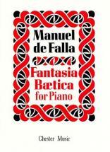 Manuel De Falla - Fantasia Beatica - Piano