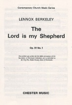 Berkeley - Berkeley Lord Is My Shepherd S - Satb