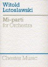Mi-parti For Orchestra - Full Score - Orchestra