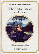 Petti - The Chester Book Of Motets - The English School For 4 Voices - Choral
