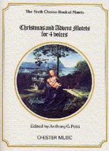 Christmas And Advent Motets For 4 Voices