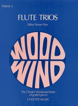 Wye Trevor - Flute Trios Volume 2 - Flute