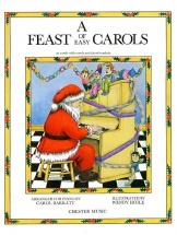 A Feast Of Easy Carols For Piano - Christmas