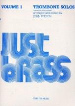Just Brass Trombone Solos Volume 1 - Trombone
